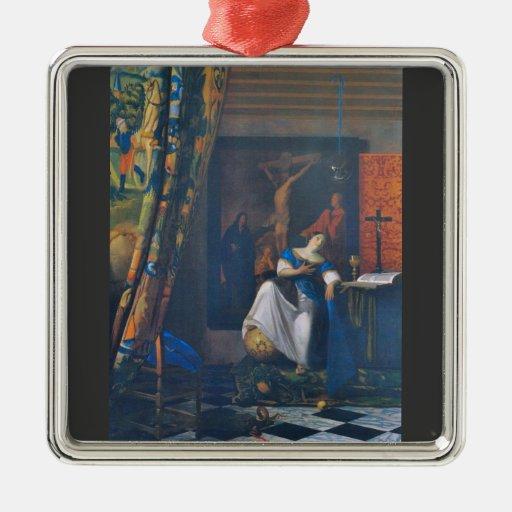 Allégorie de la foi par Johannes Vermeer Ornement De Noël