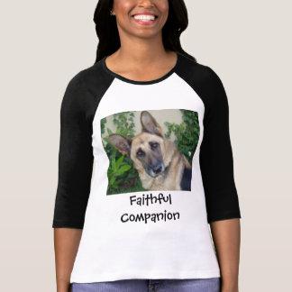 Allemand Shephard, compagnon fidèle T-shirt