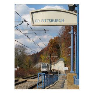 Aller à Pittsburgh ? Carte Postale
