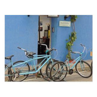 Aller à vélo à Carthagène Colombie Cartes Postales