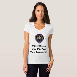 ALLER-VONT le T-shirt des femmes de mardi gras