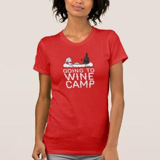 Aller Wine camp - canoë T-shirt