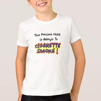 Allergie d'asthme - T-shirt d'allergie de fumée de