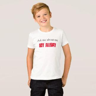 Allergie de soja t-shirt