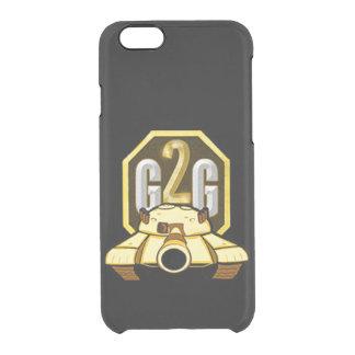 Allez au noir de glace d'espace libre de cas de coque iPhone 6/6S