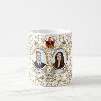 Allez le faire+Mariage de Kate, couleur d'arrière Mug