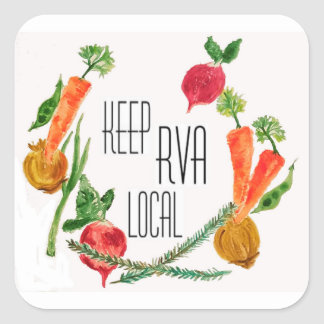 Allez Local-RVA Sticker Carré
