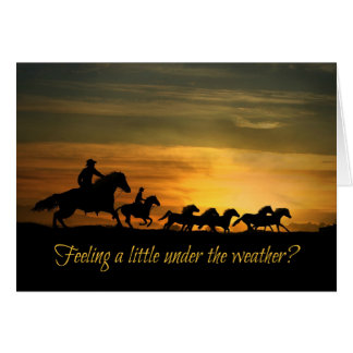 Allez mieux, une meilleure carte d'équitation de