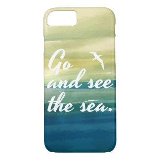Allez voir le cas de téléphone de la mer | coque iPhone 7