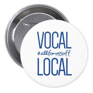 #AllForOssoff vocal et local - BLEU Pin's