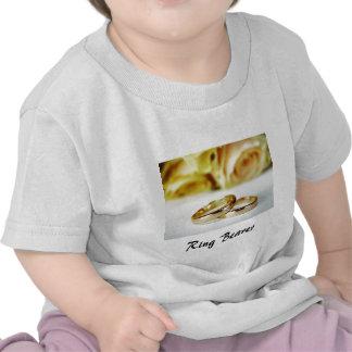 Alliances de porteur d'alliances/or t-shirts