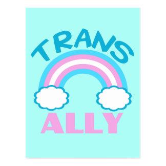 Allié de transsexuel cartes postales