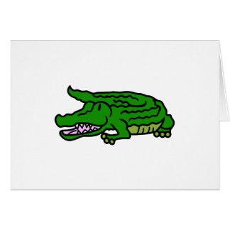 Alligator Carte De Vœux