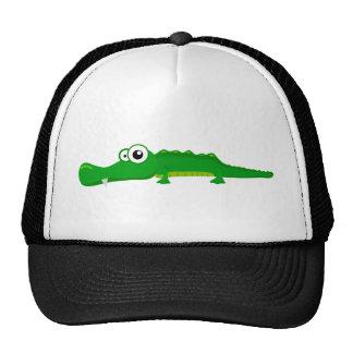 Alligator mignon casquette trucker