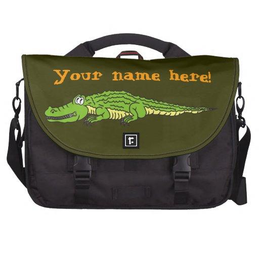 Alligator silencieux sac ordinateur portable