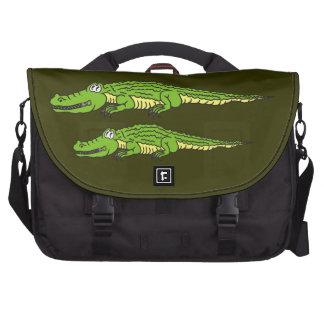 Alligator silencieux sacs ordinateurs portables