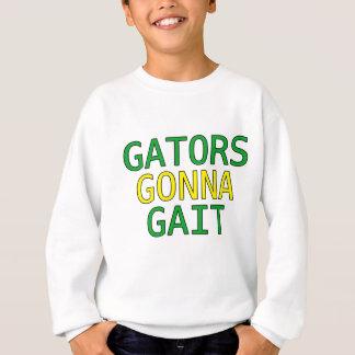Alligators allant au T-shirt drôle de Meme