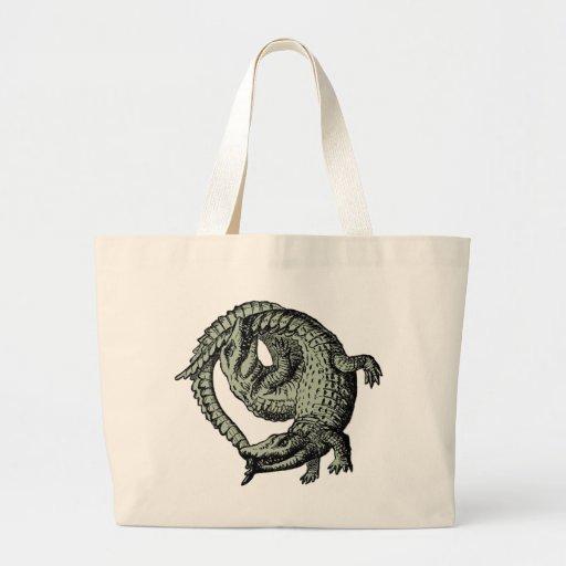 Alligators gris sacs
