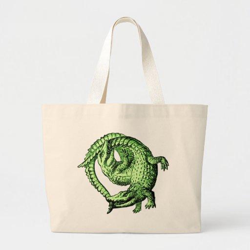 Alligators verts sac