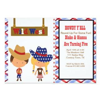 ALLO ! AmericanCowboy et invitation d'anniversaire