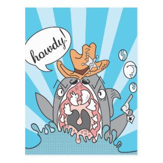 Allo carte postale de requin