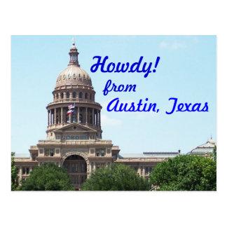 Allo d'Austin Carte Postale
