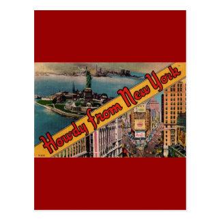 Allo de New York Carte Postale