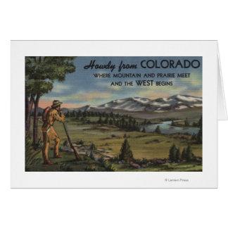 Allo (scène de montagne et de prairie) cartes