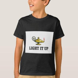 allumez-le vers le haut de la lampe