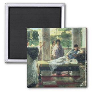 Alma-Tadema | Catullus lisant ses poèmes Aimant