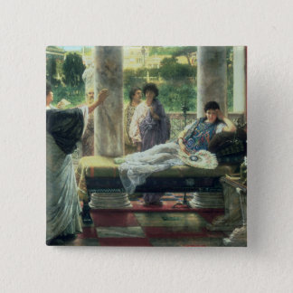 Alma-Tadema | Catullus lisant ses poèmes Pin's