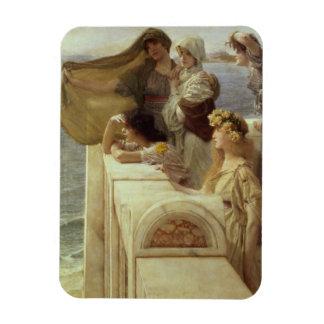Alma-Tadema | chez Cradle de l'Aphrodite, 1908 Magnet Flexible