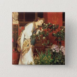 Alma-Tadema | dans le Peristylum, 1866 Badge