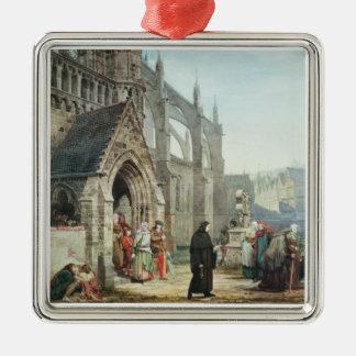 Alma-Tadema | Faust et marguerite des prés, 1857 Ornement Carré Argenté