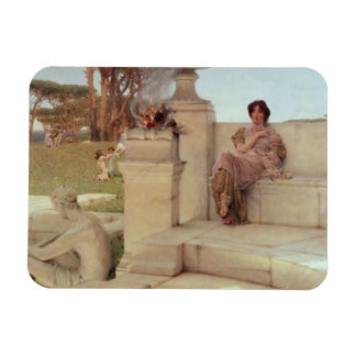 Alma-Tadema | la voix de Spring, 1908 Magnet Flexible