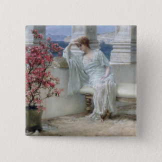 Alma-Tadema | ses yeux sont avec son thoughts� Pin's