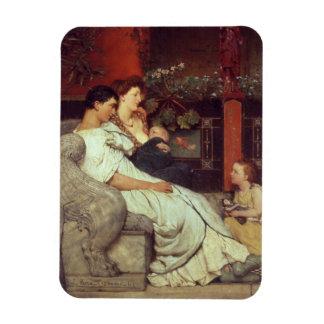Alma-Tadema | une famille romaine, 1867 Magnet Flexible