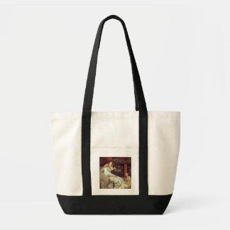 Alma-Tadema | une famille romaine, 1867 Tote Bag