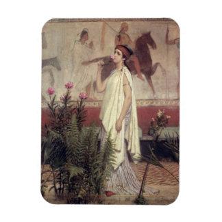 Alma-Tadema | une femme grecque, 1869 Magnet Flexible