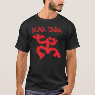 Alma Taina version rouge de Coqui - de Taino du T-shirt