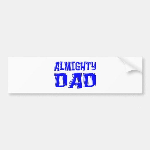almighty Dad Adhésif Pour Voiture