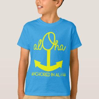 Aloha ancre, chemise de Keiki T-shirt