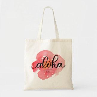 Aloha assez sac fourre-tout floral à résumé