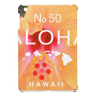 Aloha aucunes 50 ketmies oranges étuis iPad mini