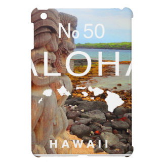 Aloha aucuns 50 Tiki Coque iPad Mini