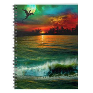 Aloha carnet de dragon d'embrayages