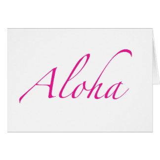 Aloha cartes