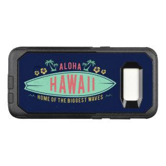 Aloha cas hawaïens de téléphone de surfer coque samsung galaxy s8 par OtterBox commuter