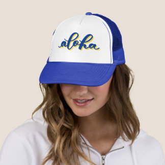 Aloha casquette de camionneur