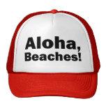 Aloha chapeau drôle de camionneur de plages casquettes